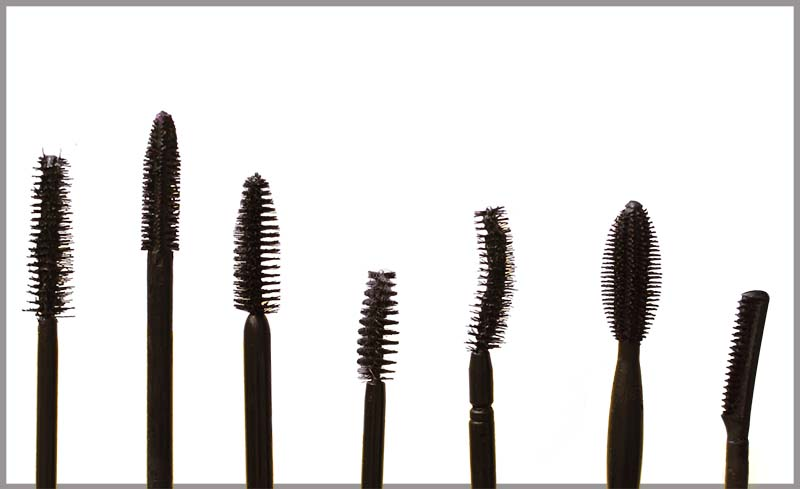 Which mascara brush to use for lower lashes